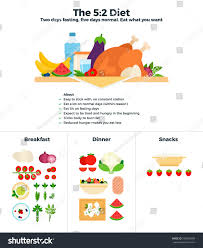 52 diet flat illustrations diet two stock illustration 596856989