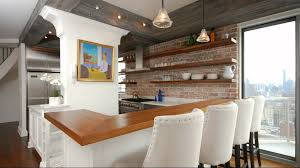 brick finishes a stylish interior design youtube
