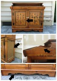 Repurposed Stereo Cabinet Guest Post East Coast Creative Rocks An Old Stereo Cabinet Makely