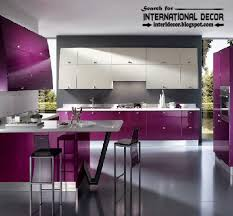 kitchen cabinet colors 2016 how to choose best kitchen colors 2016 modern purple kitchens