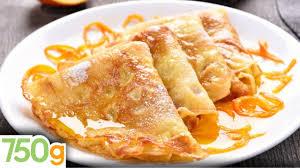 herve cuisine crepes recette de la crêpes suzette 750 grammes