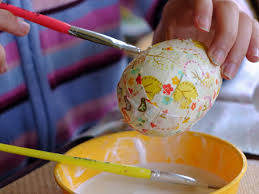 styrofoam easter eggs what to make with polystyrene easter eggs fabric mâché