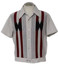Mens Dress Clothes Online 1960s Shirts For Men 1960 S Gaucho Mens Mod Knit Shirt 60s Style