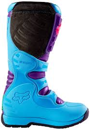 blue motocross boots fox comp 5 special edition mx boots motocross fox bmx beautiful in