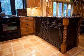 kitchen peninsula cabinets kitchen peninsula cabinet features pennington in cherry rustic