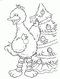 sesame street count coloring pages coloring