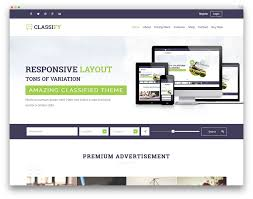 Web Design Home Based Jobs Best Wordpress Classifieds Directory Themes 2017 Colorlib