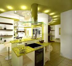 green apple kitchen design and decoration theme white and green