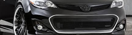2013 toyota highlander limited accessories 2013 toyota avalon custom grilles billet mesh led chrome black