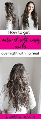 different ways to curl your hair with a wand the easiest way to curl your hair without heat