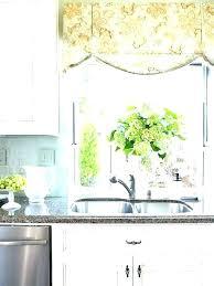 ideas for kitchen windows kitchen window treatment ideas nice window treatment ideas for