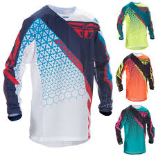 blue motocross gear racing kinetic mesh trifecta youth motocross jerseys