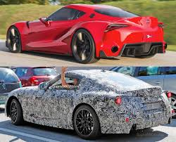 modified toyota corolla rxi first mkv supra prototype spotted in testing