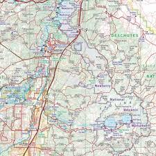 map of highway 395 oregon oregon road recreation atlas benchmark maps