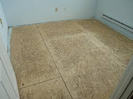 Sub Floor by Particle Board Subfloor For Hardwood Flooring Titandish Decoration