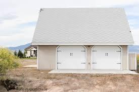 Garage Door Curb Appeal - garage doors garageeover project curb appeal the wood grain