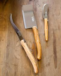 laguiole kitchen knives laguiole wooden cheese board and knife set 3 pcs balsam hill