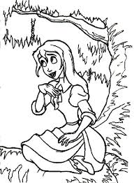 tarzan giving flowers beloved woman jane coloring pages