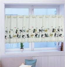 Kitchen Curtain Material by Aliexpress Com Buy Rustic Roman Blinds Kitchen Curtains Window