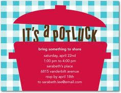 excellent potluck invitations office theruntime