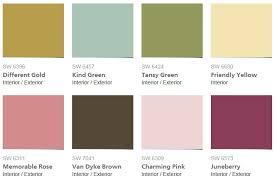 zen color palette color of the year design connection inc