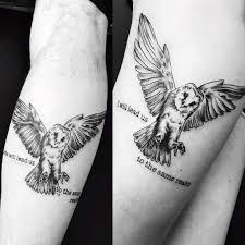 matching owl tattoos best tattoo ideas gallery