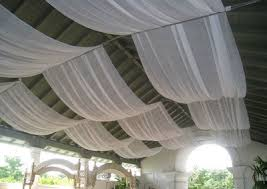 draped ceiling pipe and draping decor chiavari chair rental in los angeles san