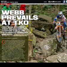 trials and motocross news shan moore the kenda ama tennessee knockout extreme enduro