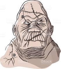 Halloween Monster Masks by Halloween Monster Mask Stock Vector Art 483785175 Istock