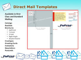 direct mail templates psprint designers eddm direct mail presentation