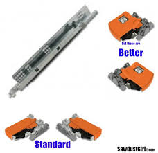 drawer slide locking mechanism how to build a drawer for blum drawer glides sawdust girl