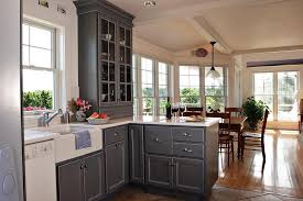 Gray Painted Kitchen Cabinets by Best And Popular Grey Kitchen Cabinet Ideas Lifestyle News