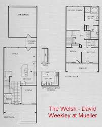 David Weekly Floor Plans New David Weekley Row Homes At Mueller 2013 Mueller Austin Homes