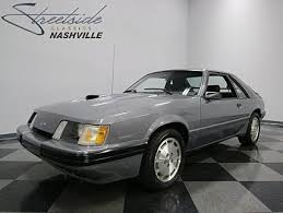 1985 5 mustang svo 1985 ford mustang classics for sale classics on autotrader