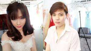 bride makeup transformation boy to makeup youtube
