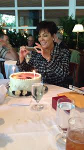 kris jenner u0027s birthday included a dance party and cake with her