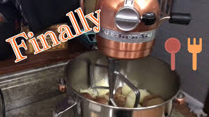 Used Kitchen Aid Mixer by Oct 2 Finally Used My 6qt Kitchenaid Mixer Youtube