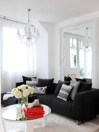 cosy black living room furniture design about design home interior