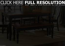 kitchen tables with benches eclectic dining room tables narrow
