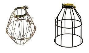 Wire Cage Light Vintage Cage Lights U2014 Grassrootsmodern Com