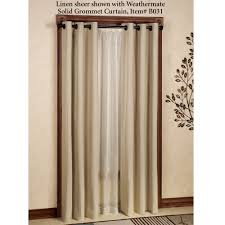 Linen Valance Decor Astonishing Custom Linen Jc Penneys Drapes In Brown Golden