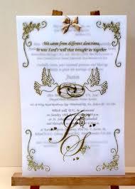 Catholic Wedding Invitation Goan Catholic Wedding Invitation Cards Popular Wedding