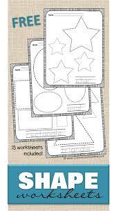 free shape worksheets