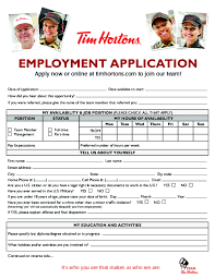 Resume Samples For Tim Hortons by Tim Hortons Resume The Best Resume