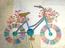 free thanksgiving quilt patterns quilt inspiration bicycle by sally manke fiber artist perhaps a