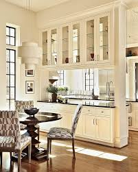 Glass Partition Between Living Room And Kitchen Breakfast Room Pass Through To Kitchen That U0027s Big Enough To