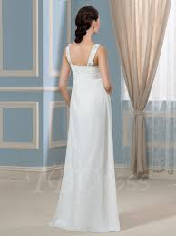 high waist wedding dress pregnancy empire waist beading chiffon maternity wedding dress