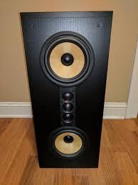 B W Bookshelf Speakers For Sale B U0026w Bowers And Wilkins Fcm8 Fcm 8 Bookshelf Speaker Ebay