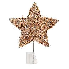 12 lit grapevine tree topper wondershop target