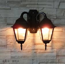 outdoor double wall light 2018 double slider outdoor balcony fashion wall l outdoor